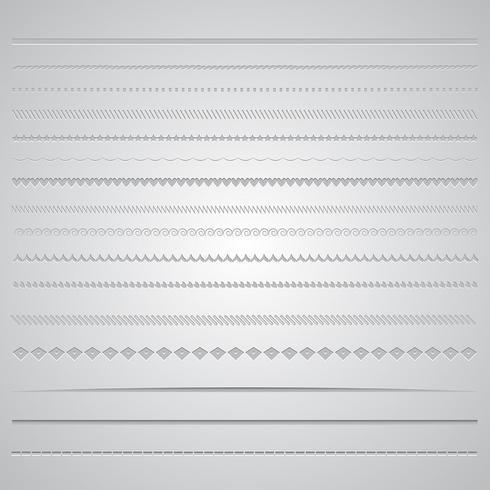 Seitenteiler vektor