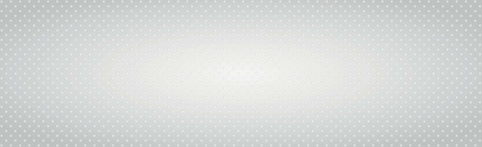abstrakt vit bakgrund som består av grå cirklar - vektor