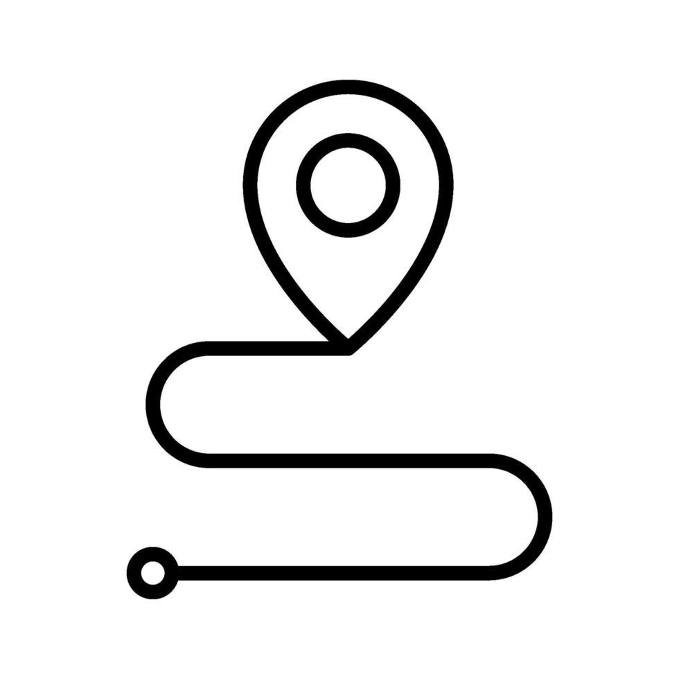 rutt vektor ikon