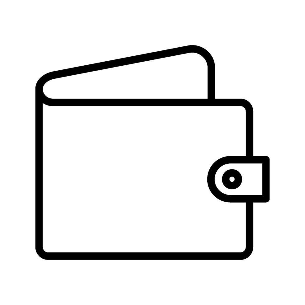 plånbok vektor ikon