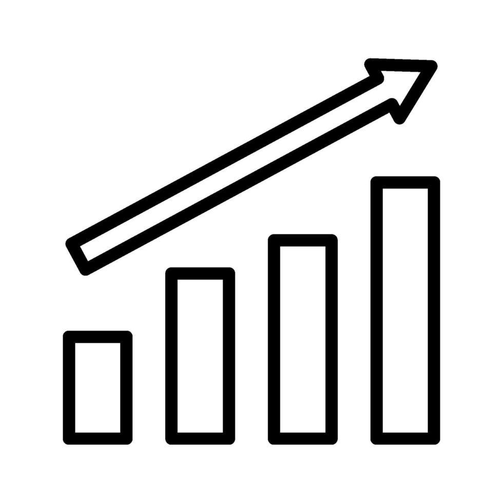 tillväxt vektor ikon