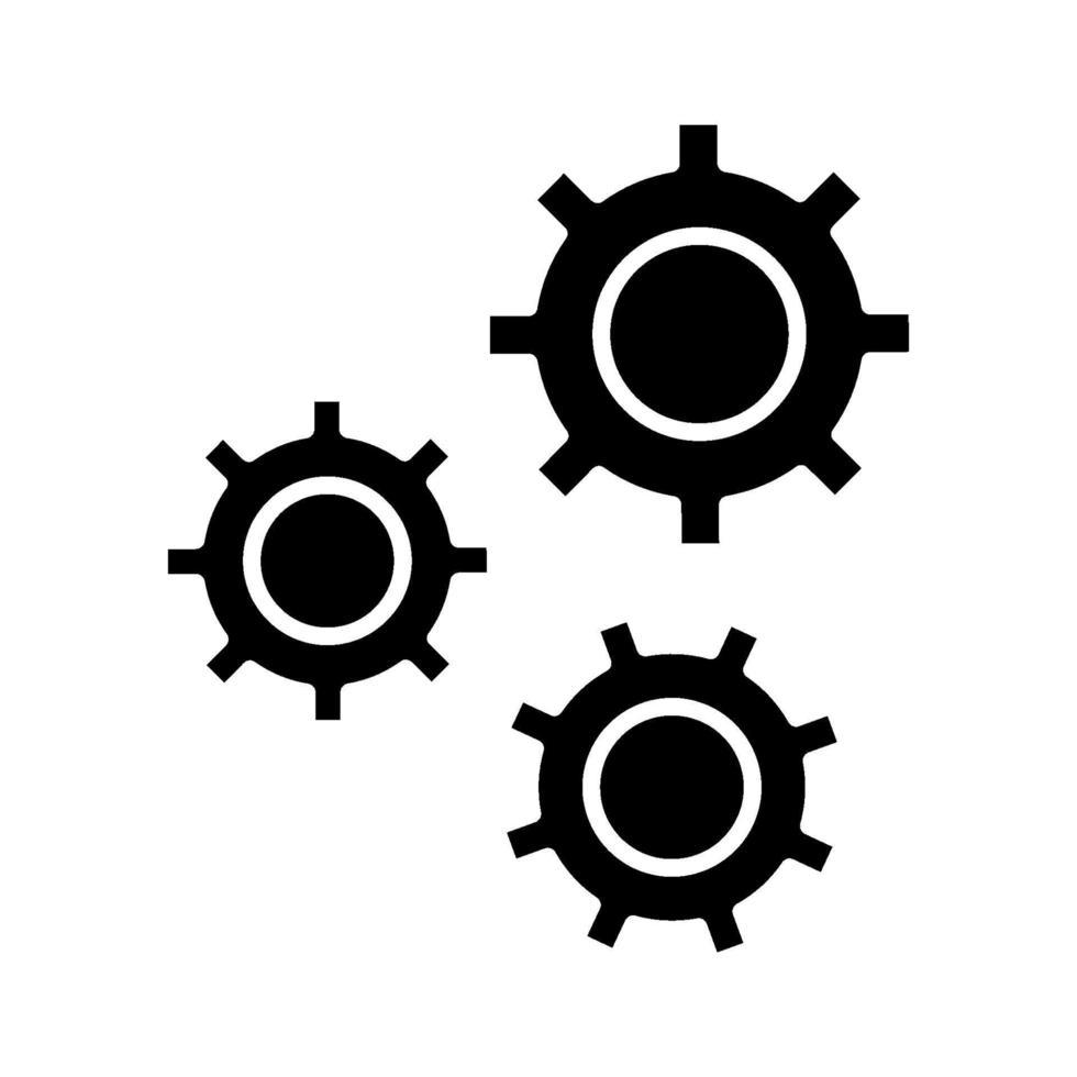 ikon för konfigurationsvektor vektor