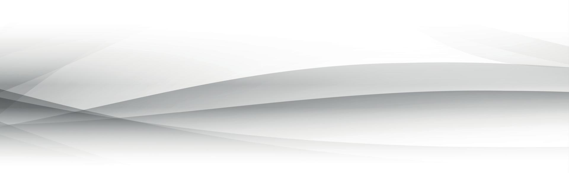 vit vektor bakgrund med vågiga linjer och prickar