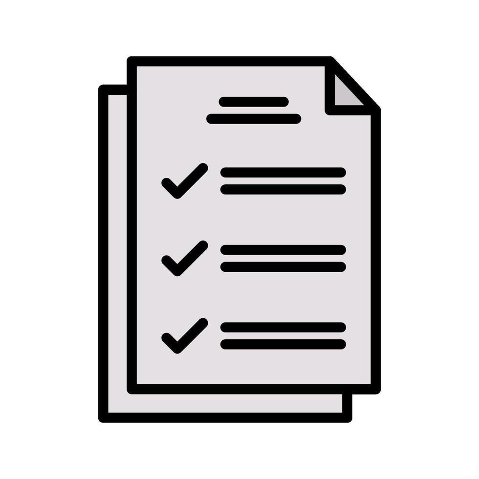 test vektor ikon