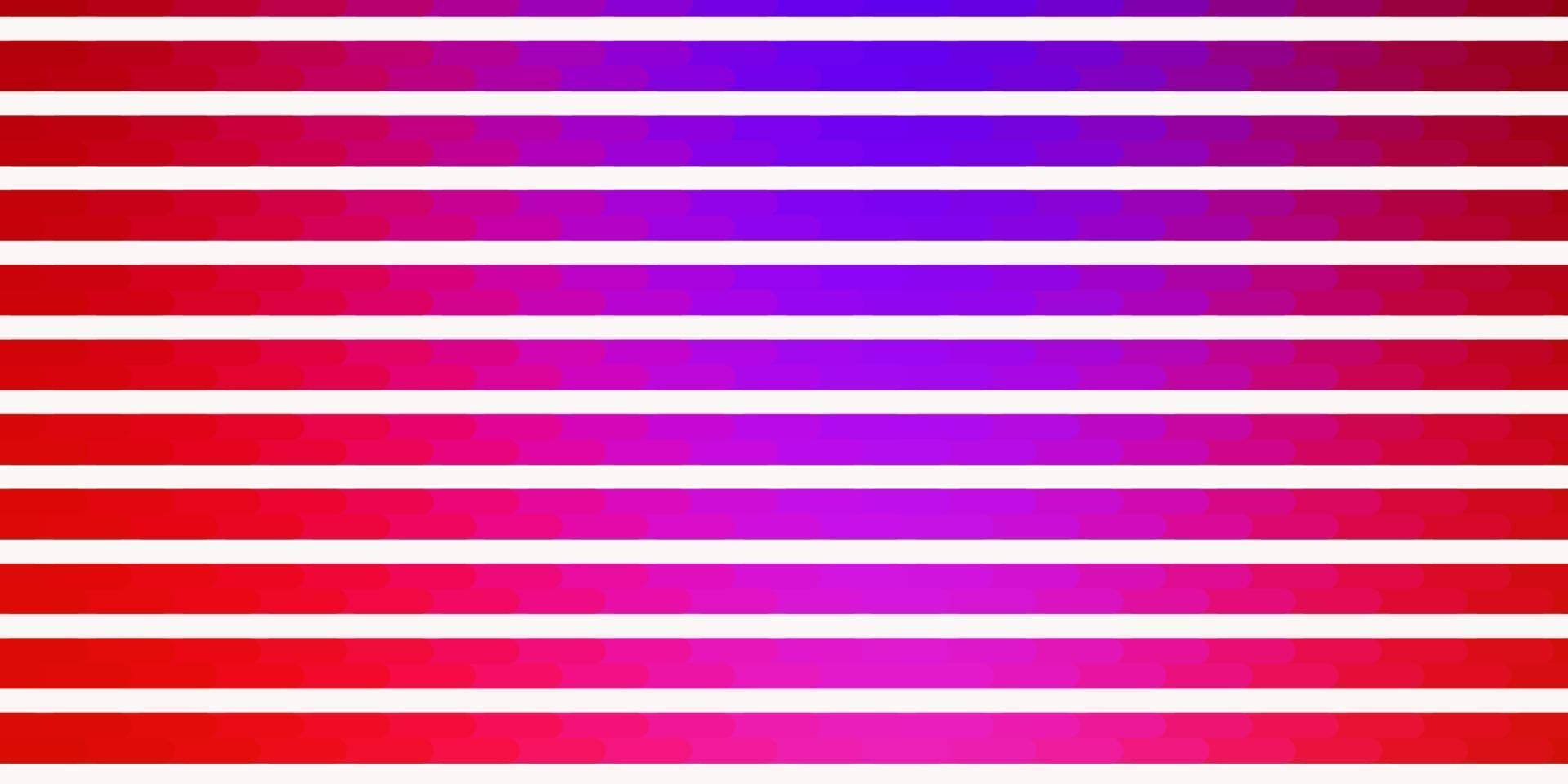dunkelrosa, rote Vektorschablone mit Linien. vektor