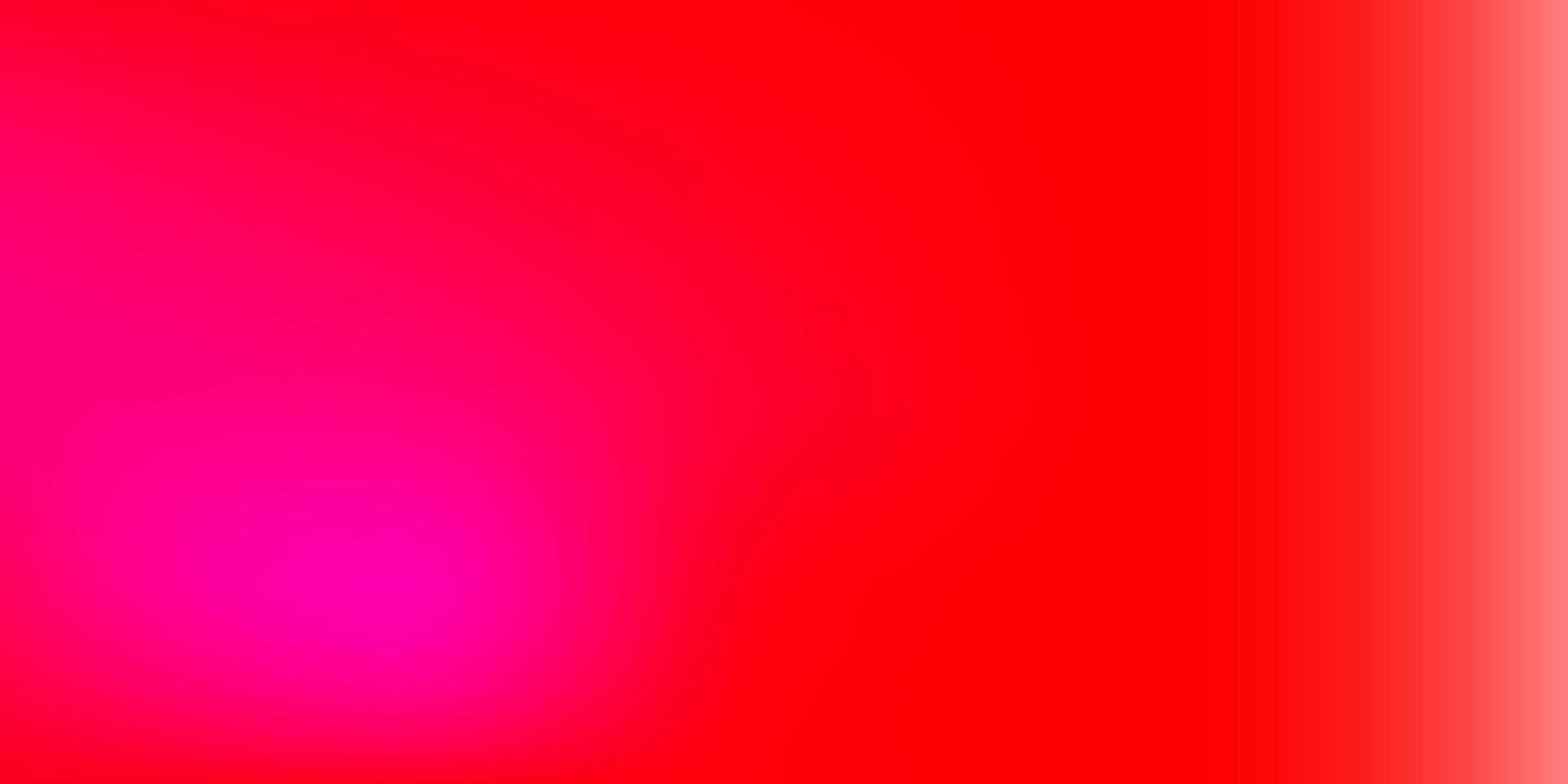ljusrosa, röd vektor gradient oskärpa mall.