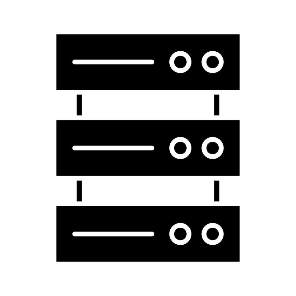 databas vektor ikon