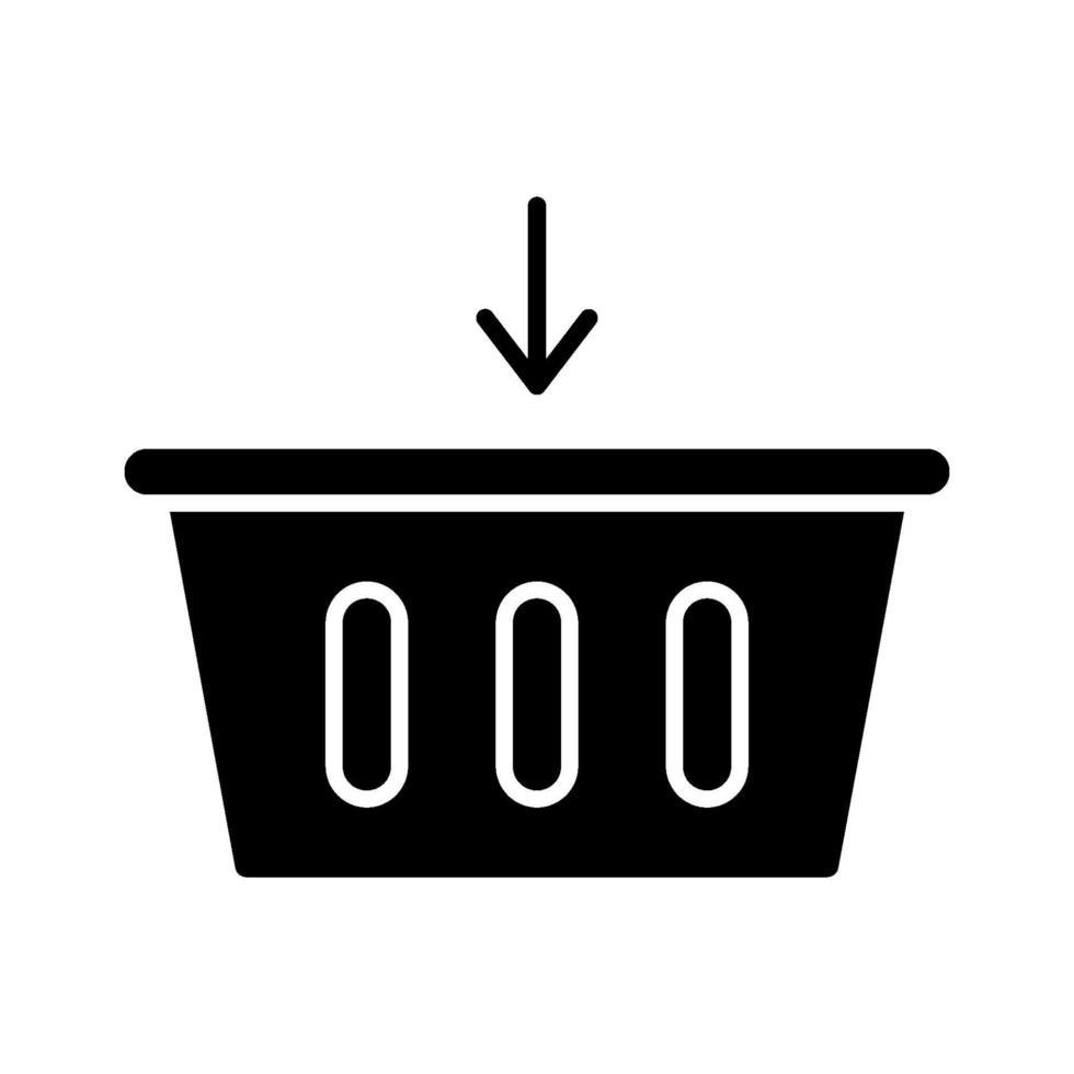 Zum Warenkorbsymbol hinzufügen vektor