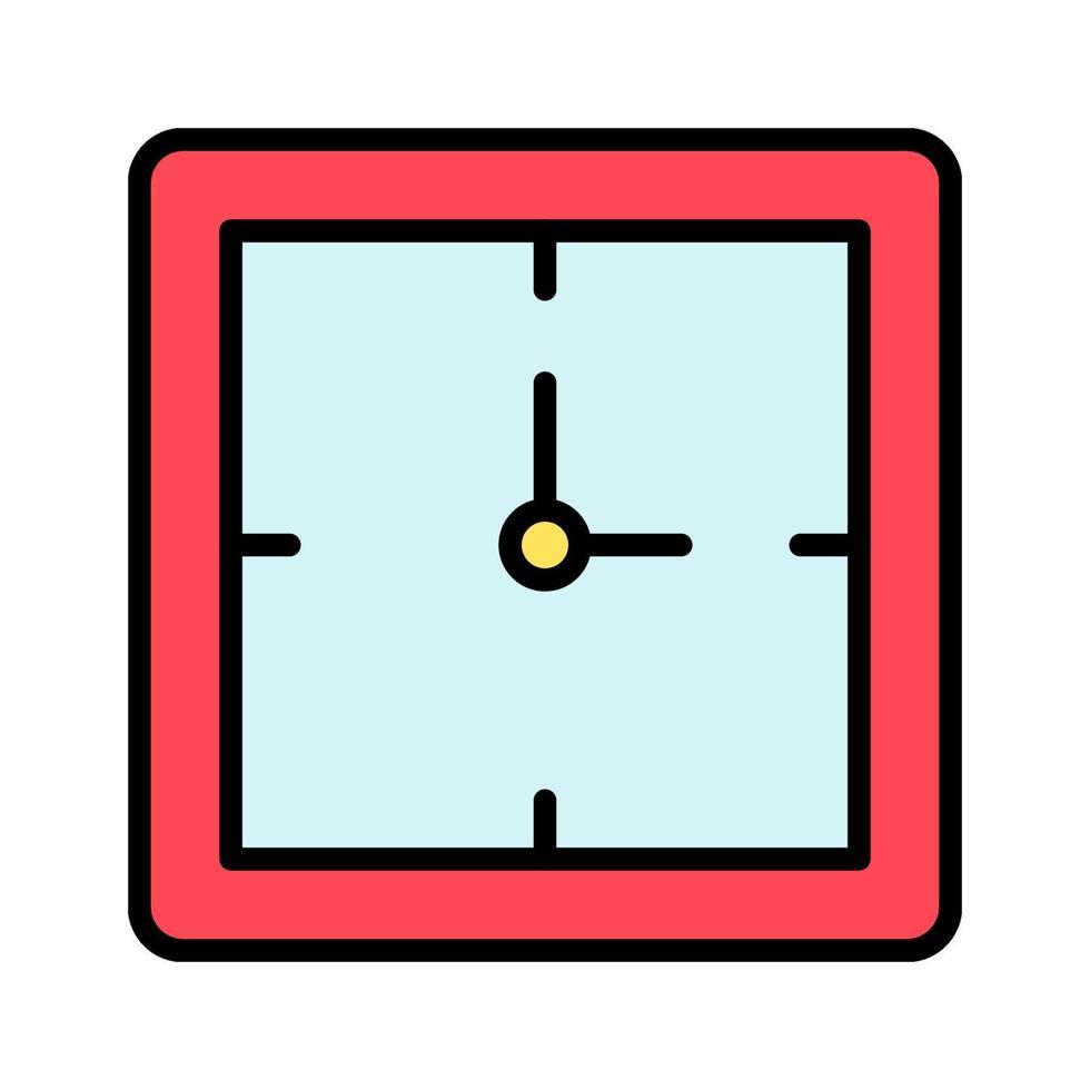 Uhrvektorikone vektor