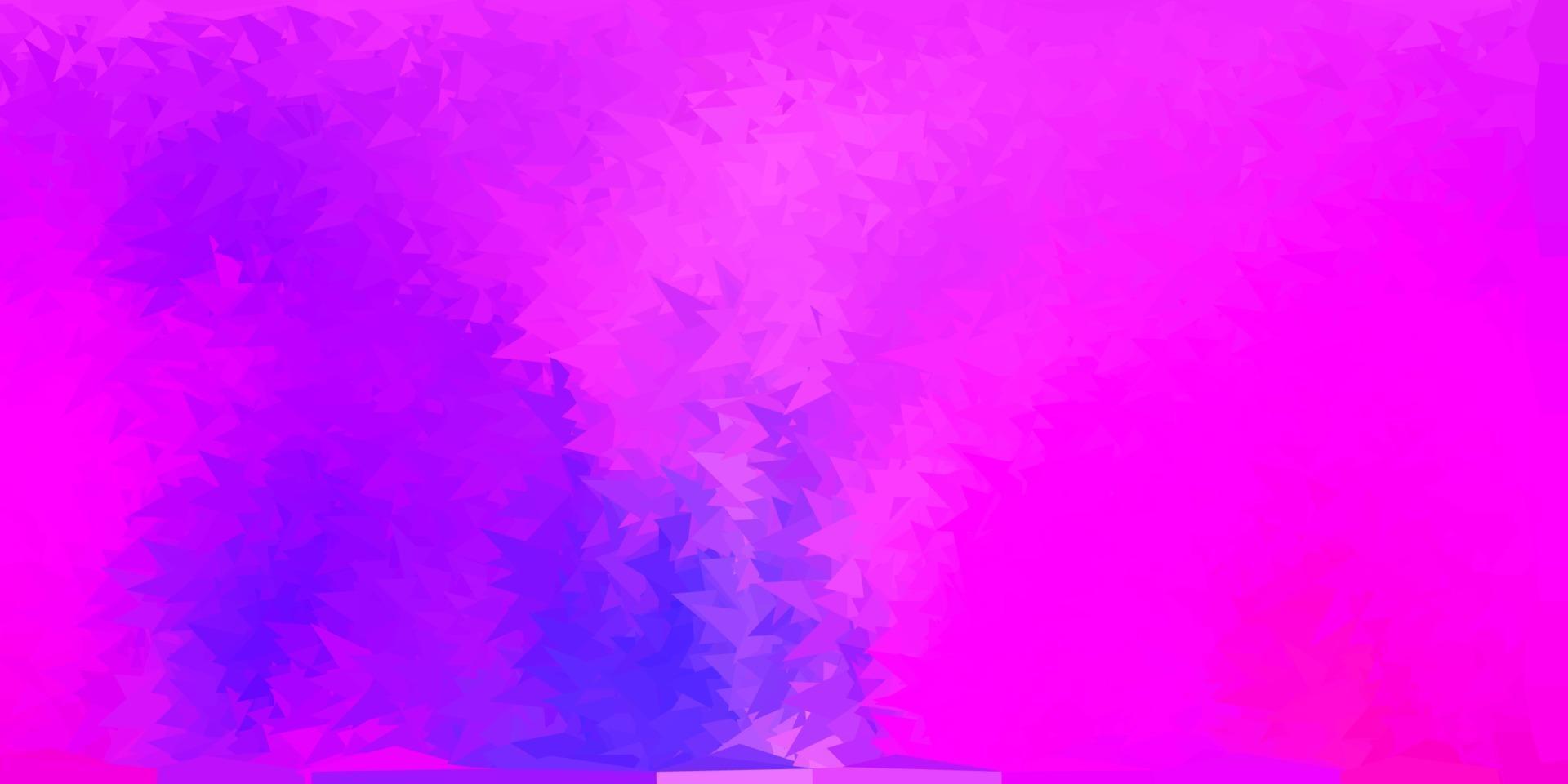 ljusblå, röd vektor gradient polygon layout.