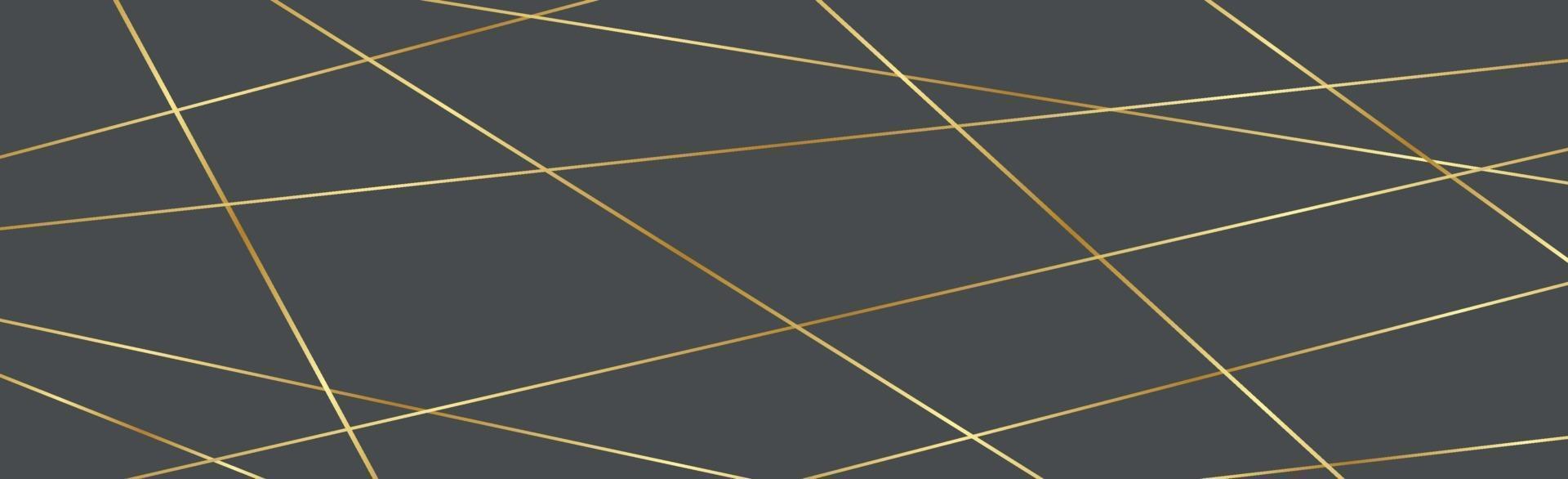 ljusa gyllene linjer på grå bakgrund - vektor