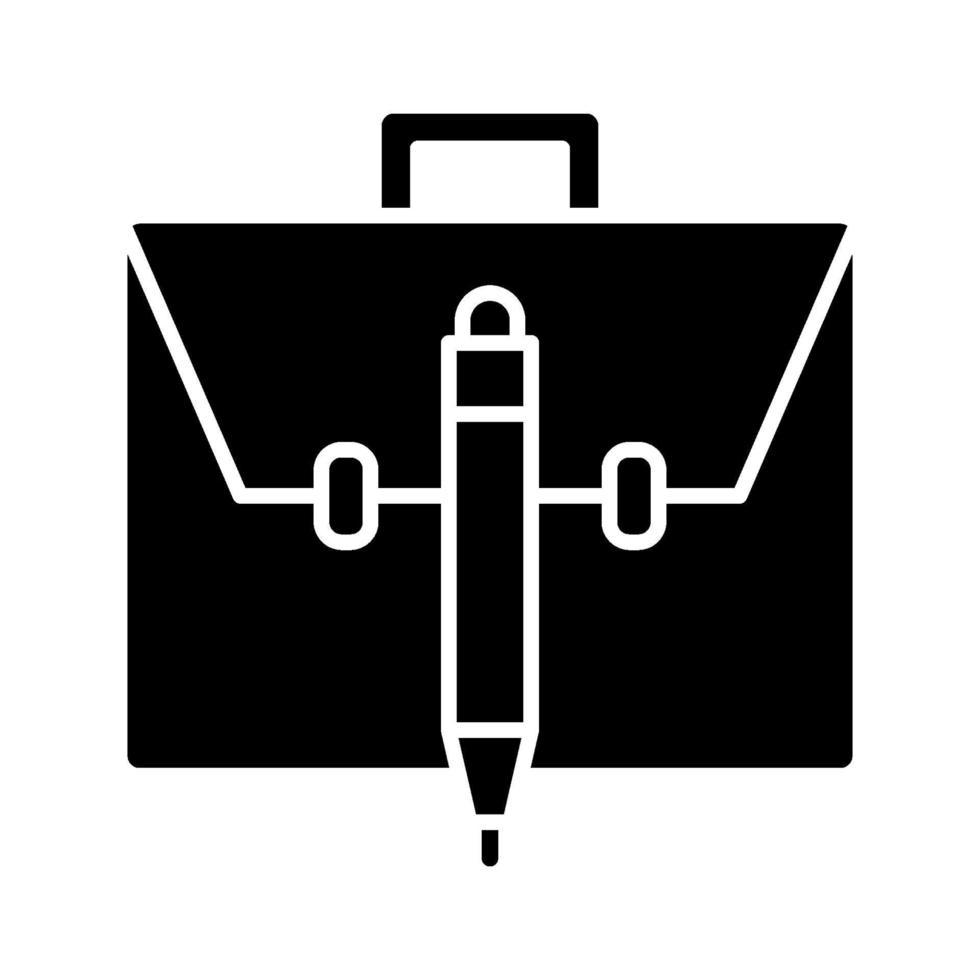 portfölj vektor ikon