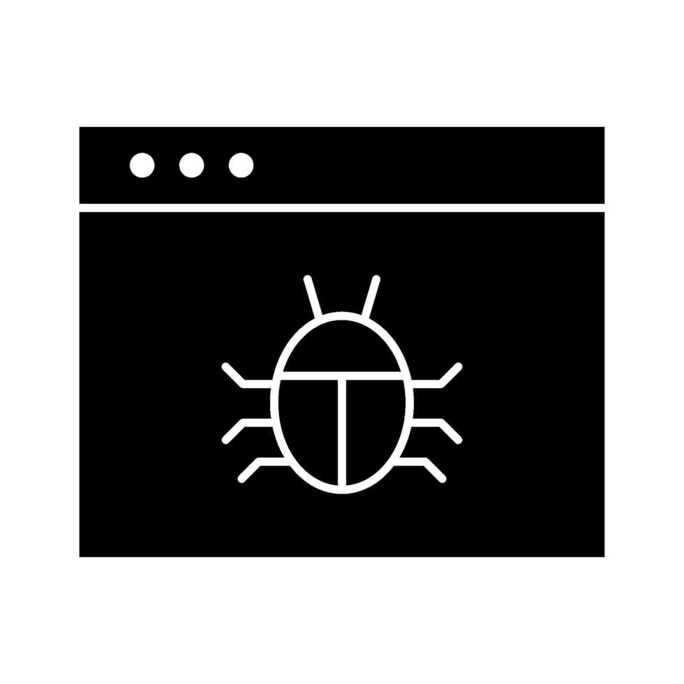 malware vektor ikon