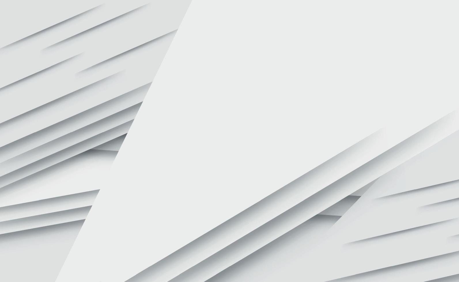 vit vektor panorama bakgrund med vågiga linjer