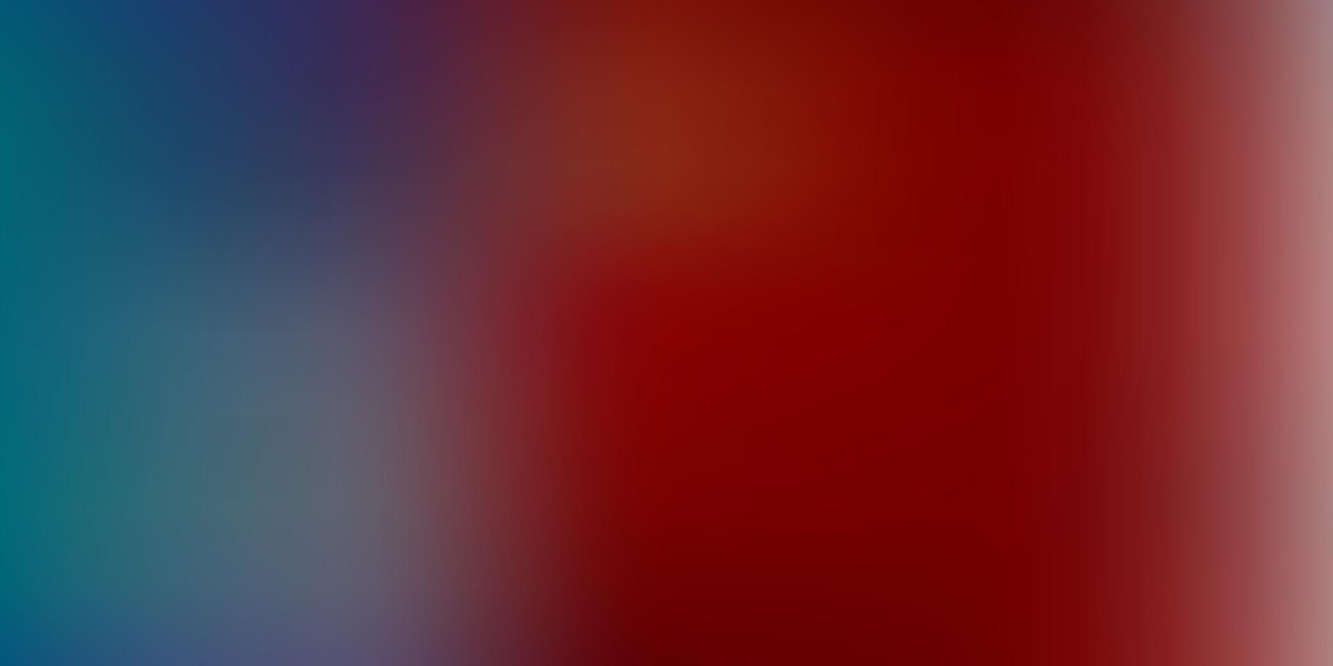 leichtes mehrfarbiges Vektorunschärfemuster. vektor