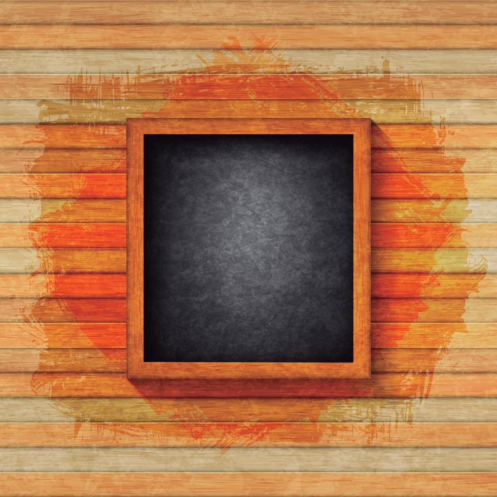 textur trä ram bakgrundsdesignvektor vektor