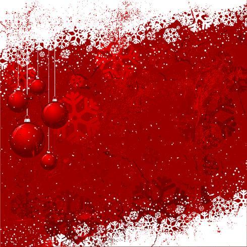 Grunge Weihnachten Hintergrund vektor