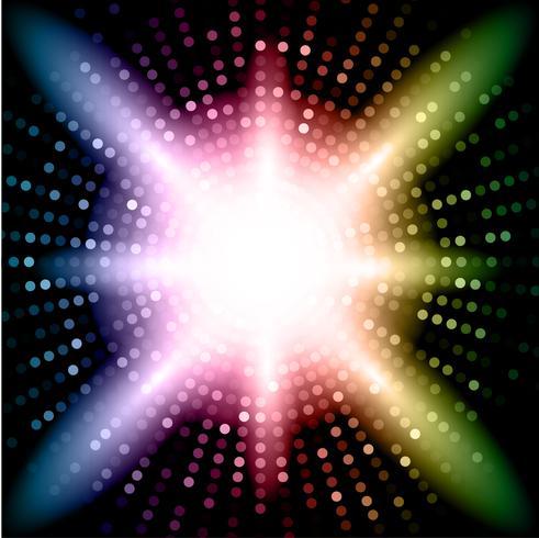 Färgglada ljus vektor