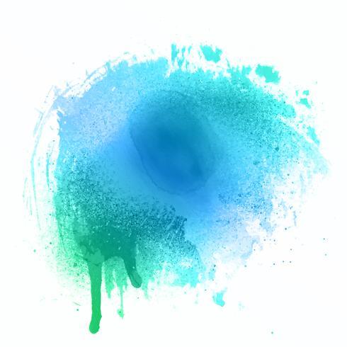 Aquarell splat Textur vektor