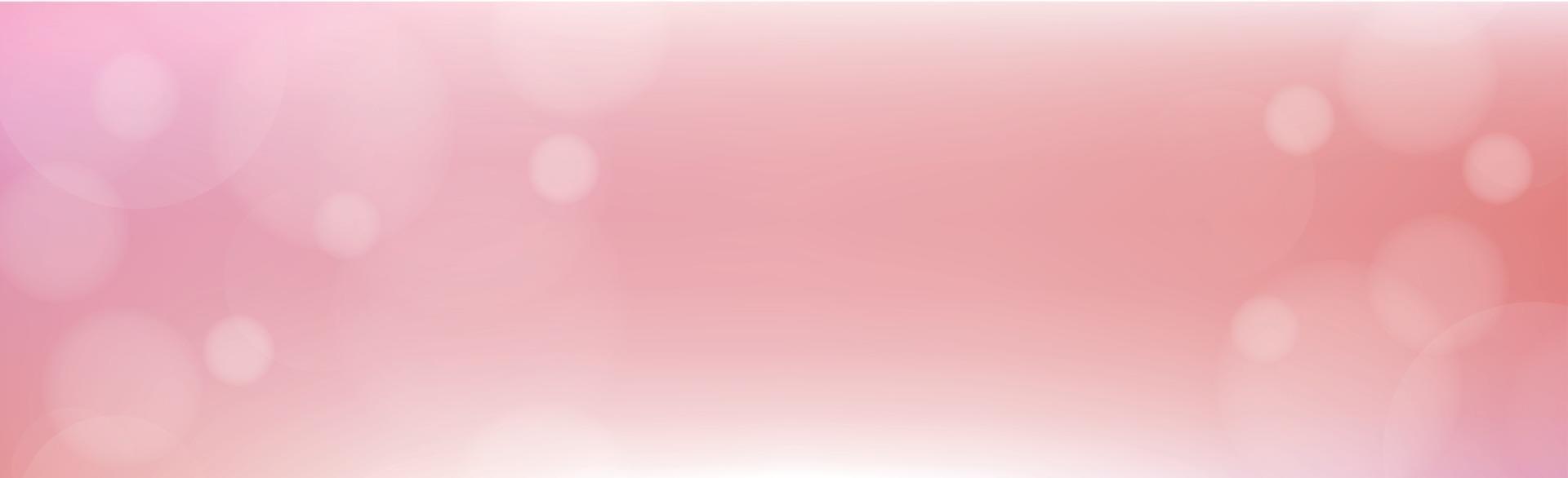 mehrfarbiges verschwommenes Bokeh auf rotem Grund vektor