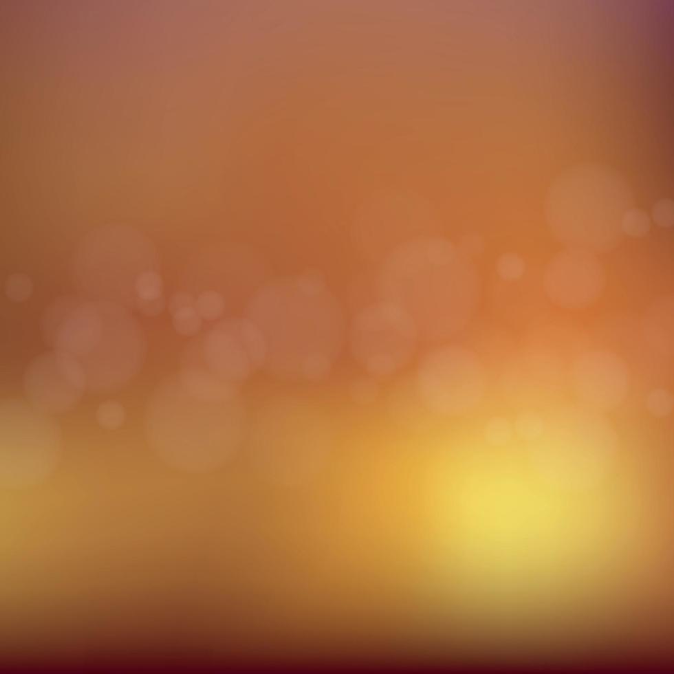 helles Bokeh mit Glanzlichtern auf dunklem Hintergrund vektor