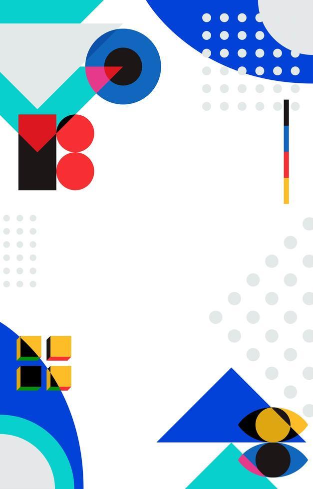 abstrakter Hintergrund der bildenden Kunst vektor