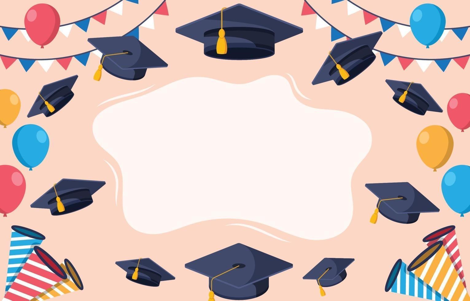 flacher Bildungshintergrund vektor