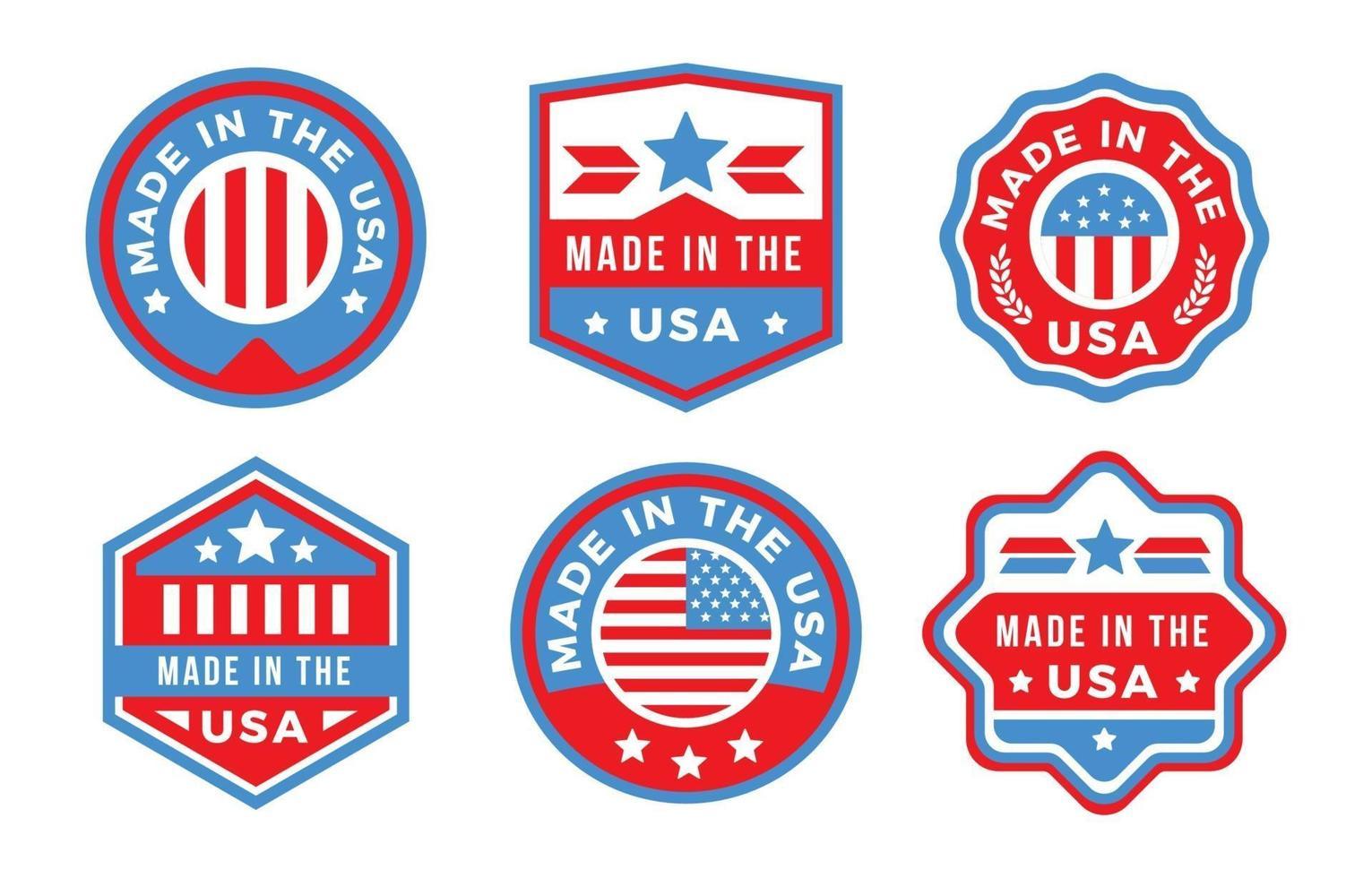 Made in USA Logo vektor