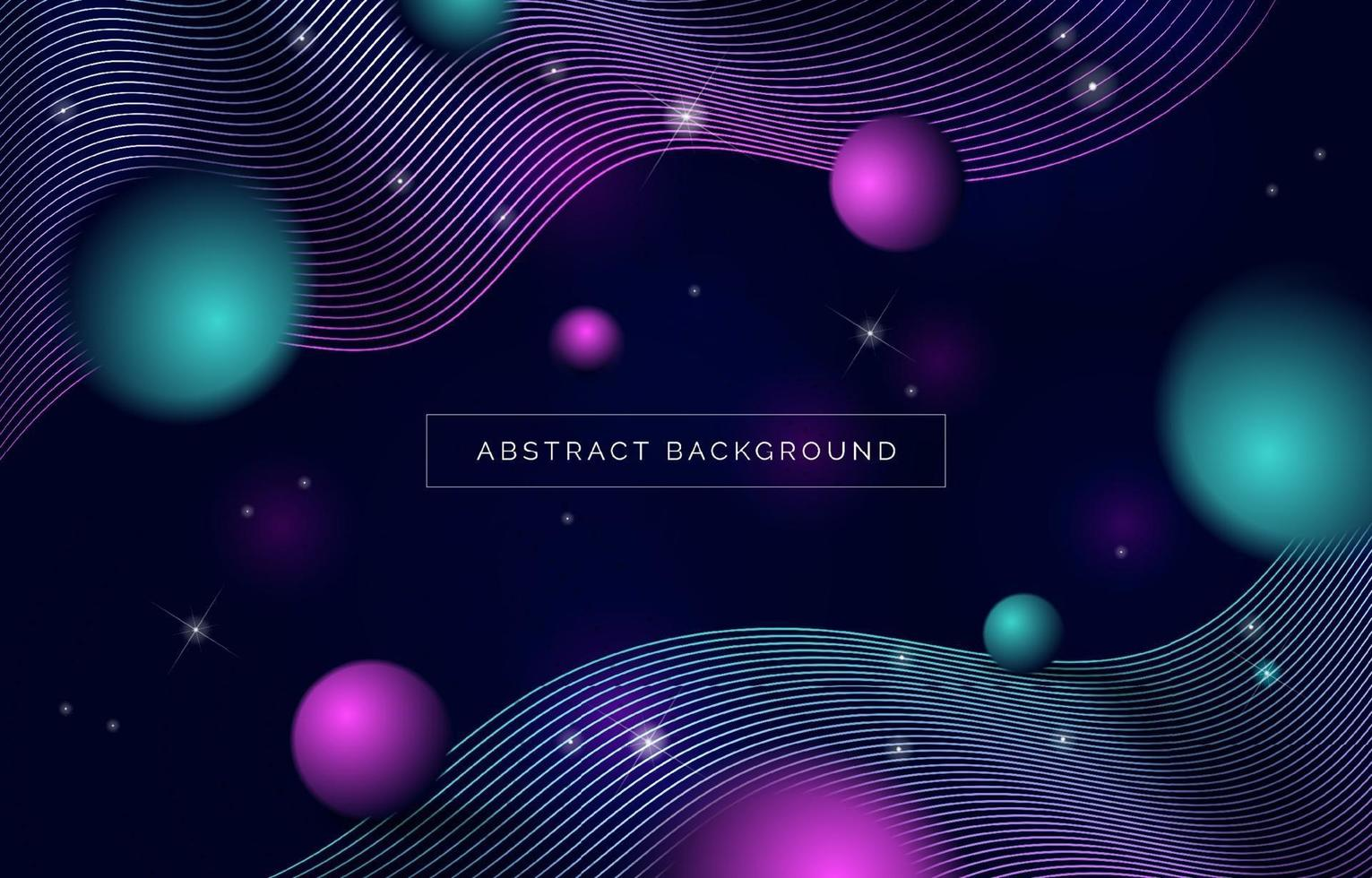 moderne abstrakte Raumlandschaft backrgound vektor