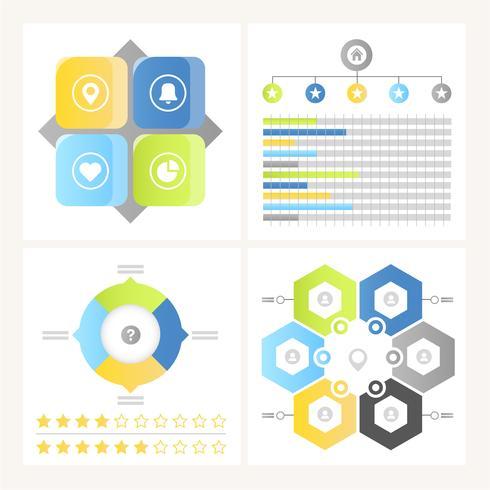 Vektor Infographic Elements och Illustration