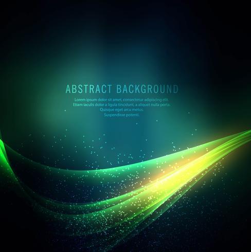 Abstrakt kreativ färgstark vågbakgrund vektor