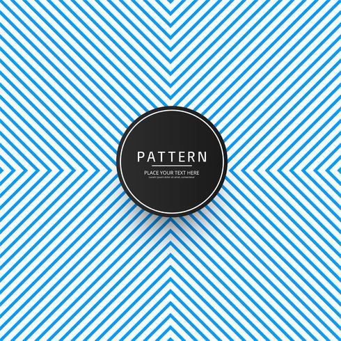 Abstrakt geometrisk mönster blå bakgrund vektor