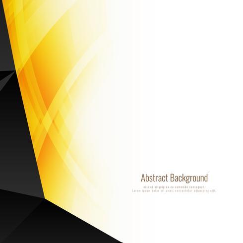 Abstrakt ljus polygonal bakgrund vektor