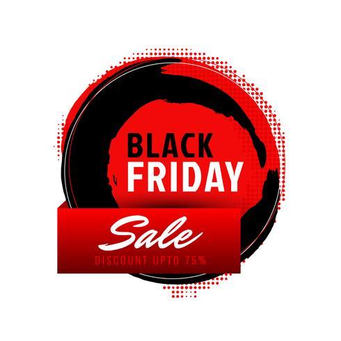 Abstrakt svart fredag försäljning bakgrund vektor