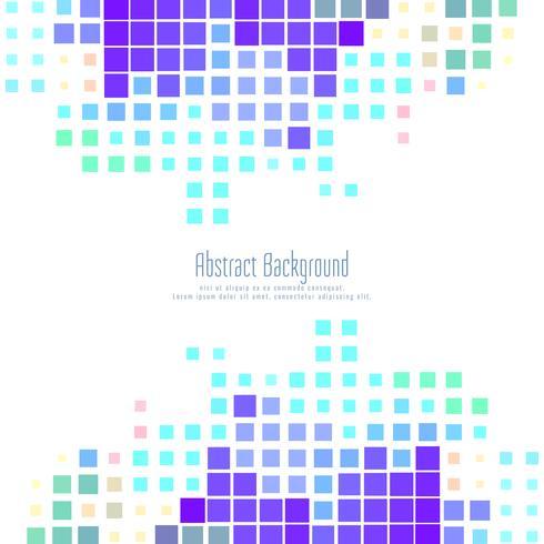 Abstrakter bunter Mosaikhintergrund vektor
