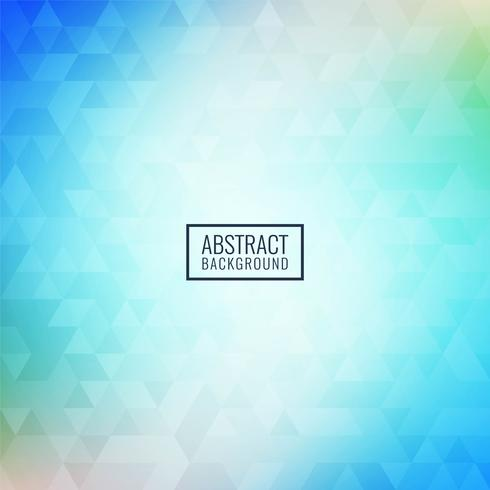 Abstrakt färgglad triangulär mosaikbakgrund vektor