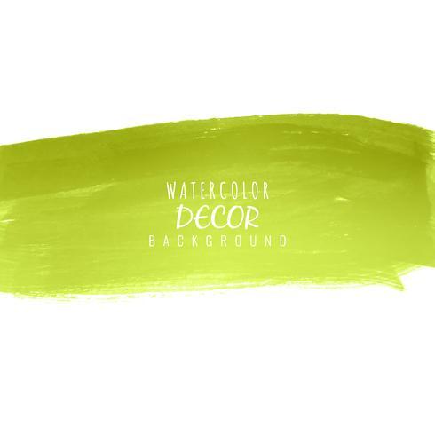 Abstrakt färgrik akvarell stroke design bakgrund illustrati vektor