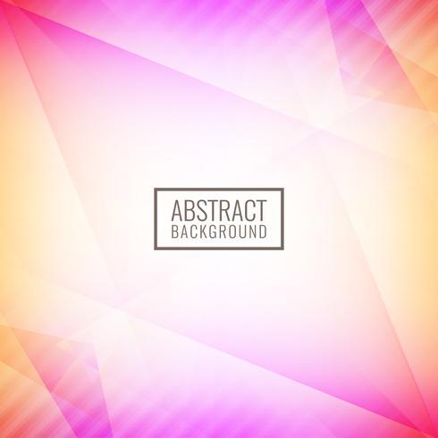 Abstrakter bunter heller geometrischer Hintergrund vektor