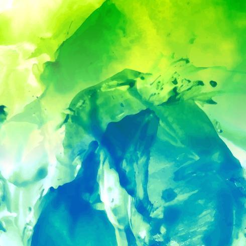 Moderner Hintergrund des abstrakten bunten Aquarells vektor