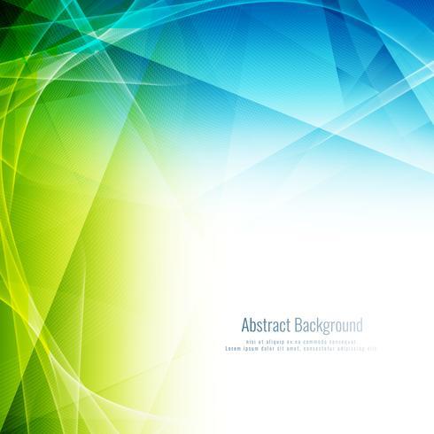 Abstrakter bunter polygonaler gewellter Hintergrund vektor