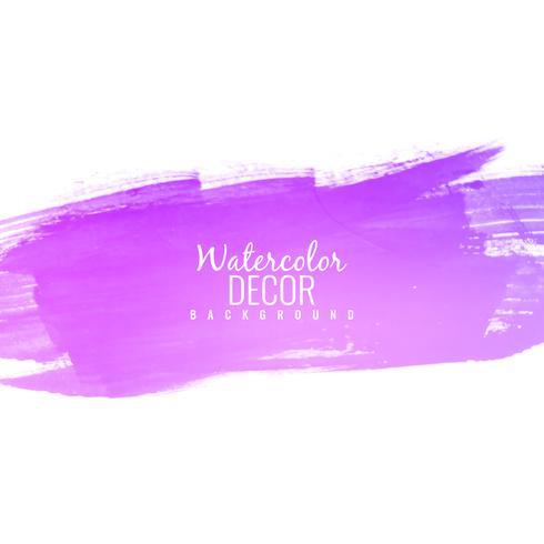 Abstrakte rosa Aquarellanschlagdesign-Hintergrundillustration vektor