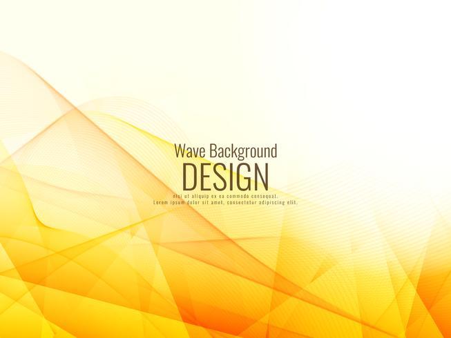 Abstrakt stilfull ljusvåg design bakgrund vektor