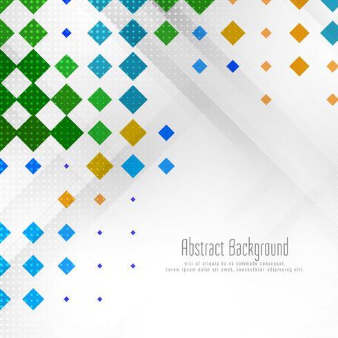 Abstrakter bunter geometrischer Hintergrund vektor