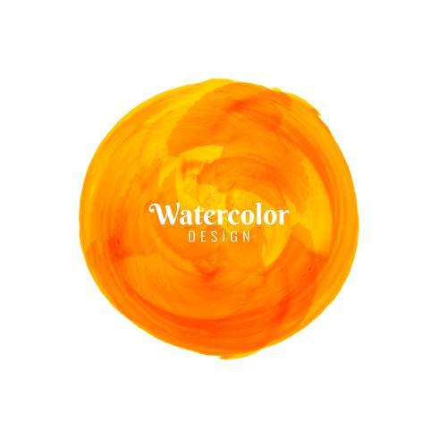 Abstrakt modern vattenfärg fläck design bakgrund vektor