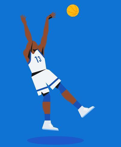 Basketball-Illustration vektor