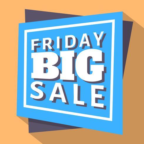 Fredag Big Sale vektor