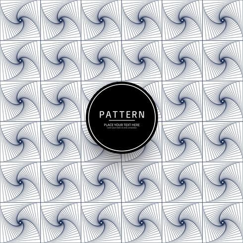 Eleganter Hintergrund des geometrischen Musters der Linien vektor