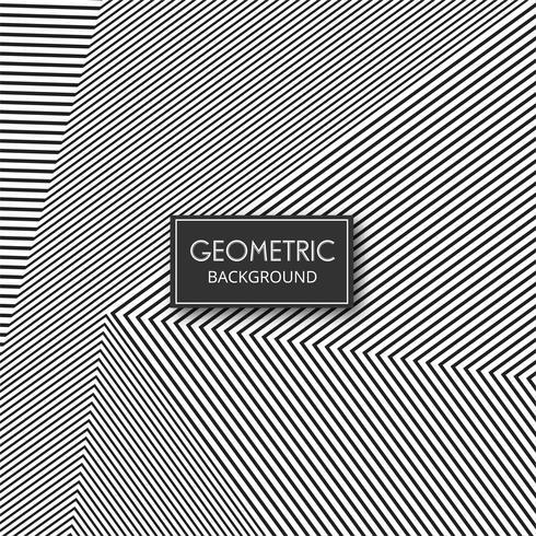 Abstrakte geometrische Form zeichnet Musterauslegung vektor