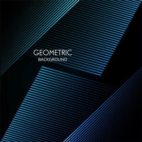 Abstrakte bunte geometrische Linien Hintergrundvektor vektor
