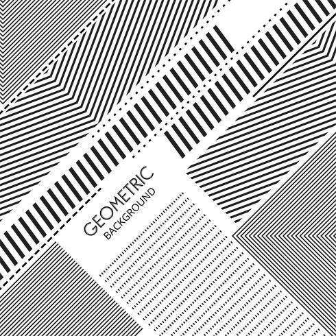 Moderne geometrische Form zeichnet Hintergrund vektor